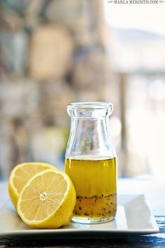 Lemon Honey Salad Dressing | MarlaMeridith.com