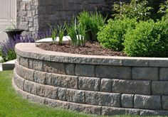 Retaining Wall Design - Landscaping and Landscape Design for Patio, Retaining Wall, Backyard and
