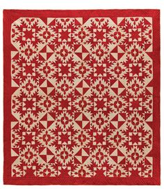 Infinite Stars, photo from the American Folk Art Museum, NYC. Quilt from the collection of Joanna S. Rose.