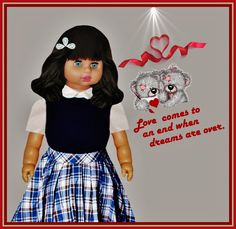 """TRUE LOVE   ---   SEE THE VIDEO OF THIS DOLL:  """"SHOW AND RARE BEAUTY"""""""