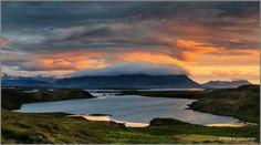 Sundown in Stykkishólmur, Iceland by Neha & Chittaranjan Desai on 500px