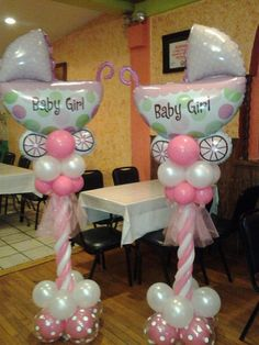 Find This Pin And More On Balloon Art By Serious3030. Great Idea For A Baby  Shower.