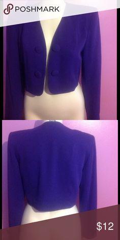 Ann Taylor Blazer Purple 2 Button Blazer Ann Taylor Jackets & Coats Blazers