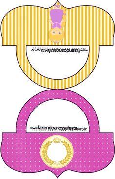 Saquinho de Balas Bolsinha Princesa Loira Afro, Prince Party, Princess Rapunzel, Blogger Templates, Prince Charming, Paper Crafts, Symbols, Printables, Letters