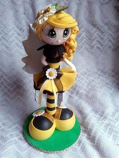 Listed on Ebay scrapwluv http://www.ebay.com/itm/TWAG-Rosa-Bee-Fofupen-Fofucha-Doll-Fofuchas-foamy-doll-/321226081145?pt=LH_DefaultDomain_0&hash=item4aca910379