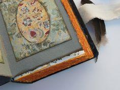 Libro de firmas para boda, álbum de fotos, libro de recuerdos gris ancla. 22x16 cm. - Hechos a mano - Libros artesanales - Tienda Seven Memories