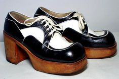 Wish you were a little bit taller? In the 70s everyone could walk tall in a fabulous pair of platform shoes.