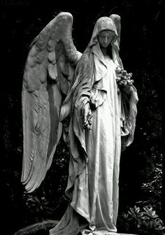 The Guardian Angel Surely you have seen this angel. Cemetery Angels, Cemetery Statues, Cemetery Art, Architecture Tattoo, Art And Architecture, Statue Ange, Sculpture Art, Sculptures, Engel Tattoo