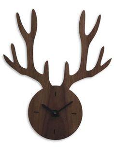 My Deer Wanduhr - Nischenartikel.de - originelle Designprodukte