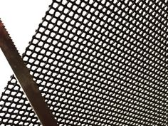 201 stainless steel security screen for saw test. Security Screen, Fire Prevention, Window Screens, Stainless Steel Mesh, Wooden Case, Steel Material, Save Energy
