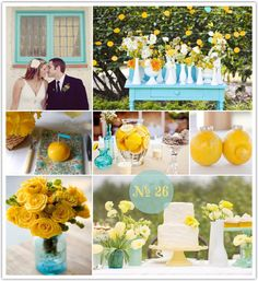 turquoise country wedding | ... two beautifully decorated chapels to choose from and expert wedding