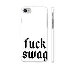 Cool new product F uck Swag iPhone...   Check out http://www.colorpur.com/products/f-uck-swag-apple-iphone-7-case-artist-vseraphim?utm_campaign=social_autopilot&utm_source=pin&utm_medium=pin