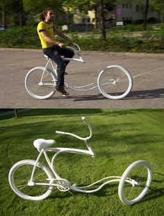 Riding a bike has never been more awesome