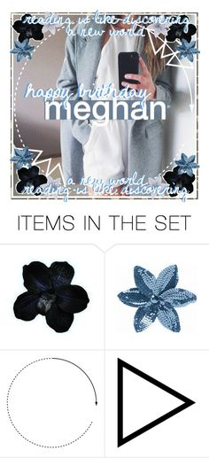 """""""❁; happy birthday, meghan !!"""" by suga-r ❤ liked on Polyvore featuring art, icon, happybirthday and rayeicons"""