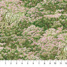 Northcott Naturescapes Abundant Garden Flowering Trees Pink