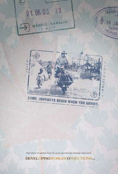 Passport stamp #ads