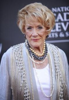 Jeanne Cooper of The Young and Restless.  You will be greatly missed.  God Bless you