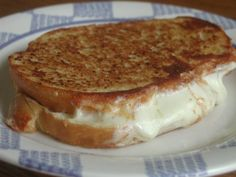 Extra-Cheesy Grilled Cheese