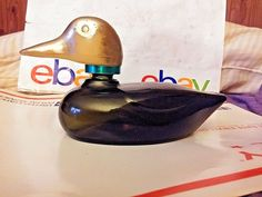 VINTAGE 1960'S AVON MALLARD DECANTER TRIBUTE AFTER SHAVE LOTION 6OZ FULL