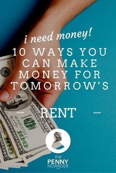 If you're having a tough week financially and need to find some cash fast, there are a few things you can do which won't take a lot of time, and can be done for people you know, or even friends of friends. - The Penny Hoarder - http://www.thepennyhoarder.com/i-need-money-10-ways-to-make-money-for-tomorrows-rent/