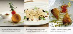Croccante, morbido e cremoso o aromatico.  Il nostro menu al Grana Padano ha tutte le consistenze e le suggestioni adatte a una cena importante