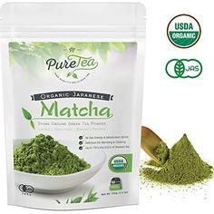 Matcha Green Tea Powder Organic - Japanese Premium Culinary Grade [100g] (Reusable Airtight Bag) USDA & Vegan Certified. Perfect for Baking, Smoothies, Latte, Iced Tea, & Cooking. 100g (3.5 oz) >>> Check out this great product.