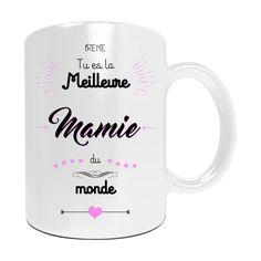 mug nounou personnaliser avec le pr nom de votre enfant cadeau pour nounou personnalis. Black Bedroom Furniture Sets. Home Design Ideas