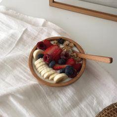 fruit with yogurt and granola // pinterest @softcoffee