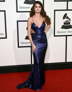 selena gomez grammy 2016 red carpet