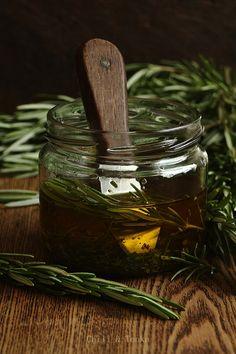 Rosemary in olive oil