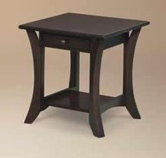 Amish Alsace Large End Table
