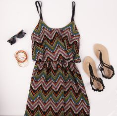 Deb Shops Tribal Dress