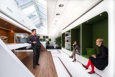 L'architecture d'intérieur des bureaux de Google à Zurich a fait forte…
