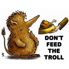 Trolls, don't feed them | Primera parte | Blog rgtogether