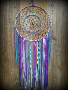 Dream catcher Double dream catcher by TrippySerendipity on Etsy
