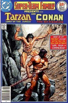 Old Comic Books, Vintage Comic Books, Comic Book Covers, Comic Book Characters, Vintage Comics, Comic Book Heroes, Marvel Vs, Marvel Dc Comics, Tarzan