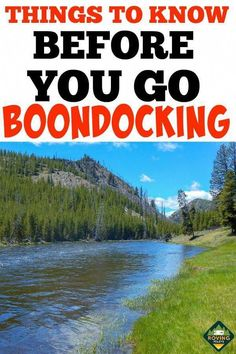 to Get Started Boondocking the Right Way Thinking about boondocking? This camping guide answers all your questions about Boondocking in an RV.Thinking about boondocking? This camping guide answers all your questions about Boondocking in an RV. Best Places To Camp, Camping Places, Tent Camping, Camping Gear, Outdoor Camping, Camping Storage, Camping Stuff, Glamping, Backpacking Gear