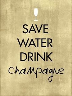 We couldn't agree more! #Champagne #Bubbly