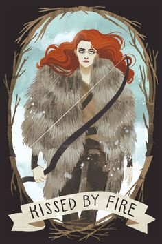 Game of Thrones by Shannon Snow, via Behance