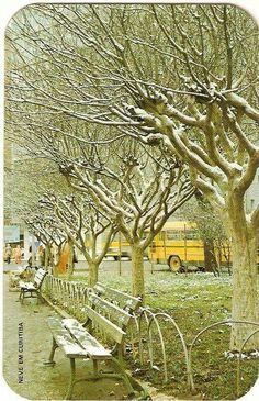 A muuuitos anos atrás.... Curitiba.