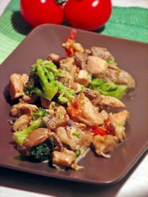 Culinaricum: Laskás-brokkolis csirkeragu Hungarian Recipes, Hungarian Food, Kung Pao Chicken, Potato Salad, Paleo, Potatoes, Meat, Ethnic Recipes, Beef