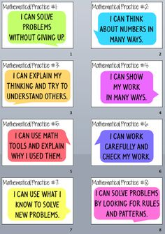 Bulletin Board idea:  Everybody is a Genius: Kid Friendly Mathematical Practices Posters- Part 2                                                                                                                                                      More