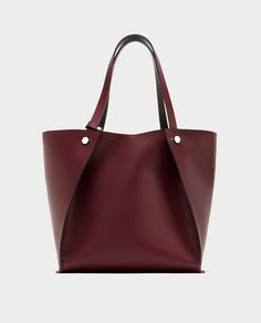 Zara New In Geometric Tote Bag Per Fall For All Pinterest Bags Handbags And