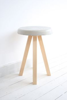 PUDDLE Concrete Side Table By Milkcart On Etsy