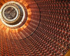 Interior shot of the Large Hadron Collider