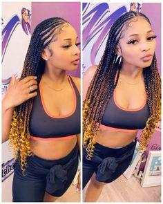Black Girl Braided Hairstyles, Braided Ponytail Hairstyles, Frontal Hairstyles, African Braids Hairstyles, Hairstyle Short, African Braids Styles, Braided Mohawk, Natural Hair Braids, Braids For Black Hair