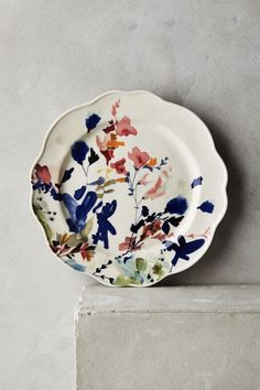 Wildflower Study Side Plate