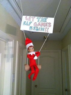 What Is Elf On The Shelf? 15 Ideas For The First Day Back What Is Elf On The Shelf? 15 Ideas For The First Day Back The post What Is Elf On The Shelf? 15 Ideas For The First Day Back & Elf on the Shelf appeared first on Elf on the shelf ideas . Christmas Elf, All Things Christmas, Christmas Ideas, Christmas Games, Christmas Decor, Office Christmas, Preschool Christmas, Christmas Holiday, What Is Elf