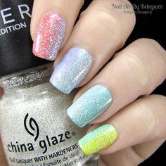 Nail Art By Belegwen: Rainbow nails