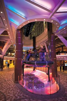 Rising Tide Bar on the Oasis of the Seas-Aimee we need this!!